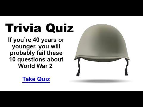 World War 2 Trivia Quiz