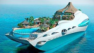 5 НЕВЕРОЯТНЫХ ЯХТ ДЛЯ САМЫХ БОГАТЫХ(Яхты для богатых людей стали одним из способов демонстрации своих возможностей и многомиллионного состоя..., 2016-11-29T07:19:15.000Z)