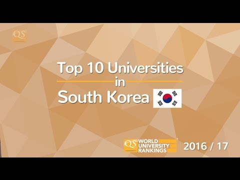 Top 10 Universities in South Korea 2016/17