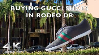 $757 GUCCI SPARKLE SHOES, ARE THEY WORTH IT?? [Cali Vlog] (RODEO DR)