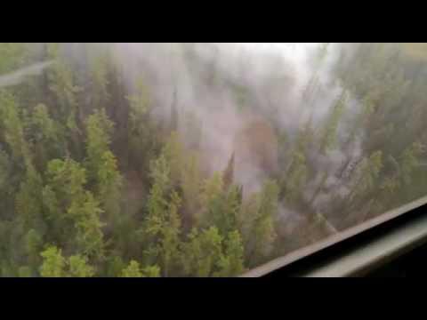 Лесные пожары в Красноярском крае июль 2016