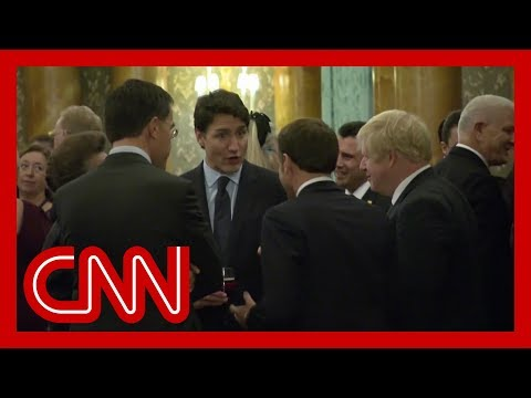 Video appears to show world leaders talking about Trump