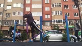 Мамина Тренировка На Спортивной Площадке ЖК Губернский Краснодар