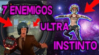 ACTIVO EL ULTRA INSTINTO Y PASA ESTO, SOLO VS SQUAD!!!!! OMG FREE FIRE REVISA MI CASO!!!! #2