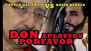 Medardo Gonzales LLAMA PELELE AL PRESIDENTE Nayib Bukele