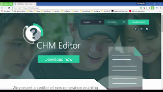 How to download, install and create a .chm help file using Chm Editor