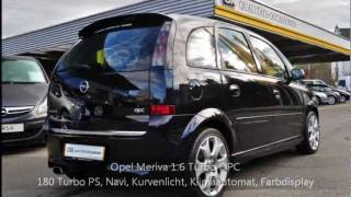 Opel Meriva 1.6 Turbo OPC - 203330 - RUEDI TINNER AG - OCCASION.