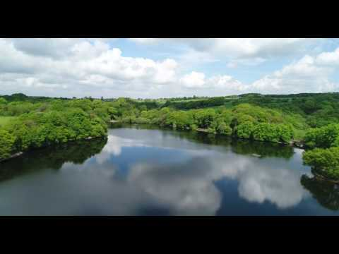 Phantom 4 Pro, 4K, 60FPS, Knypersley Reservoir, Long Distance OVer Water