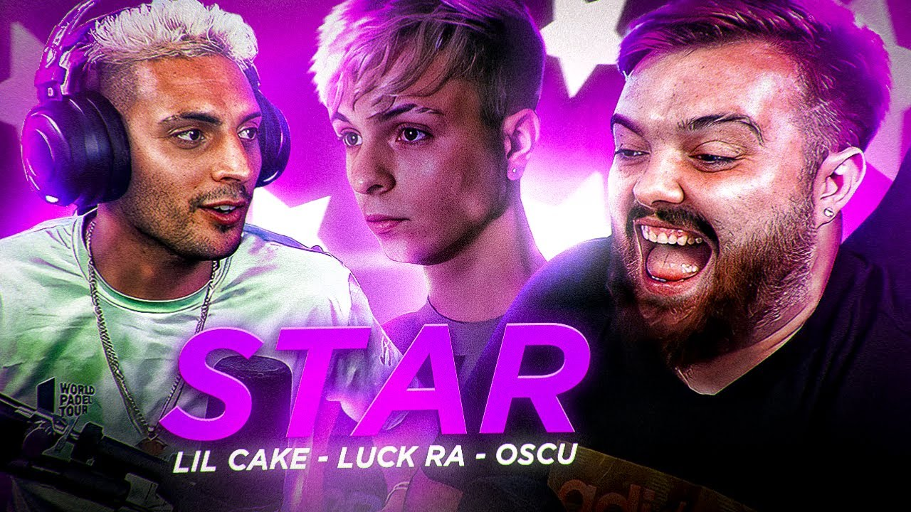 REACCIONANDO con @Ibai  a STAR 💫 - LiL CaKe x Luck Ra x Oscu