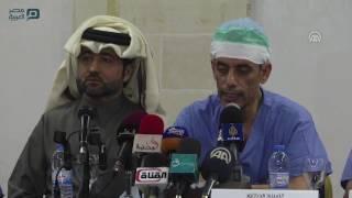 مصر العربية | وفد طبي قطري يجري 18 عملية زراعة