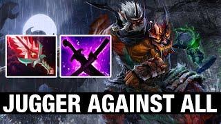 JUGGER AGAINST ALL - 7ckngMad Plays Juggernaut - Dota 2