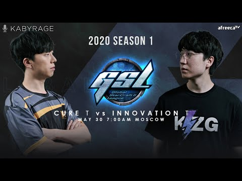 [2020 GSL Season 1] Round of 4 | Match 2 — Cure (T) vs. INnoVation (T)