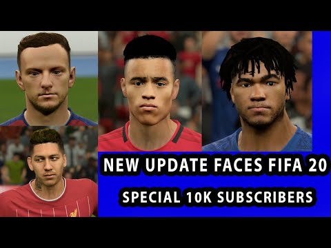 FIFA 20 NEW UPDATE FACES ADDED | Greenwood,James,Raktic And Firmino