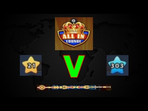 Thumbnail: 8 Ball Pool - ALL-IN 40 Million [Level (21 Vs 303)] Epic Gameplay (#1)