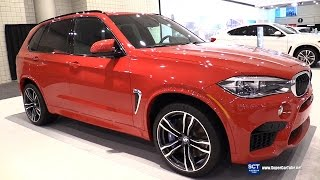 2016 BMW X5 M - Exterior and Interior Walkaround - 2016 New York Auto Show