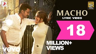 Macho Song Lyrics Video HD Mersal | Vijay, Samantha | A R Rahman | Atlee