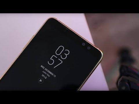 Цена и характеристики Samsung Galaxy A8 и A8 плюс 2018 года