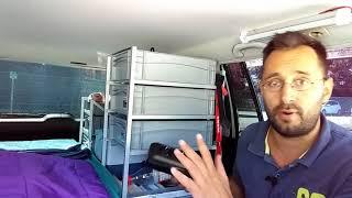 Leben im Auto | Umbau meines Golfs zum Camper |  Minimalismus extrem