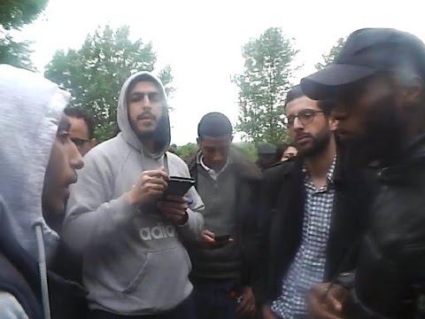 Ali Dawah & Youth Debate Gabriel (Kemet) & Muslim - Biology & Creation - Speakers Corner -