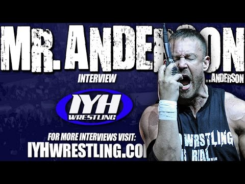 Ken Anderson Mr. Anderson podcast shoot interview on his wrestling school The Academy