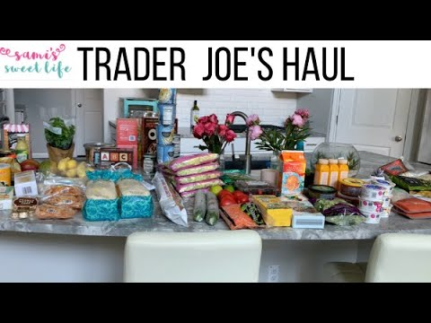 HUGE TRADER JOE'S GROCERY HAUL | Might Be My Biggest TJ Haul Yet from YouTube · Duration:  15 minutes 31 seconds