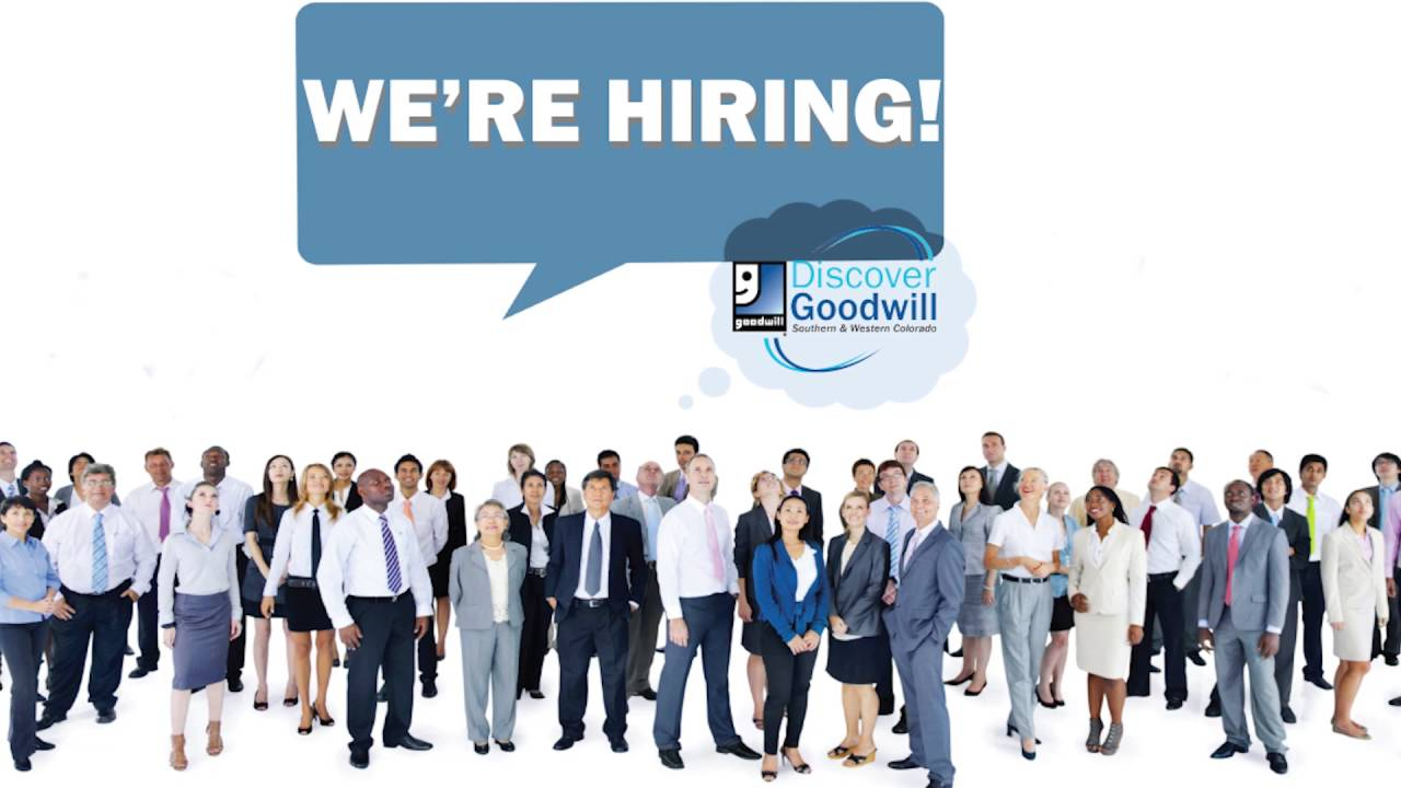 get a job monday leap into discover goodwill youtube