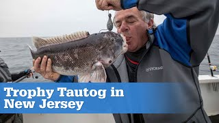 Trophy Tautog in New Jersey (Full Episode)