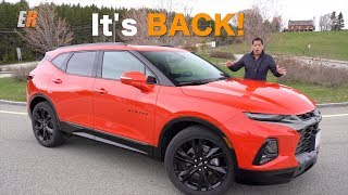 The Chevy Blazer is BACK - 2019 Chevrolet Blazer First Look