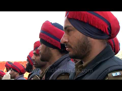 Punjabi police force - handsome men with turbans!