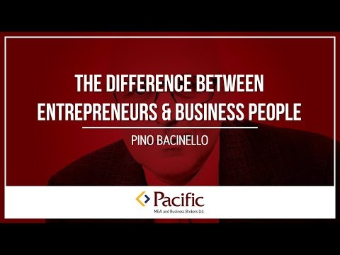 The Difference Between Entrepreneurs and Business People