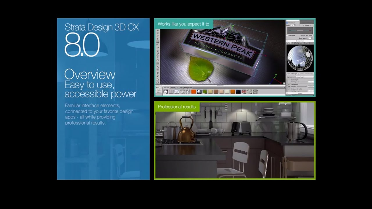strata design 3d cx 8 0 overview youtube