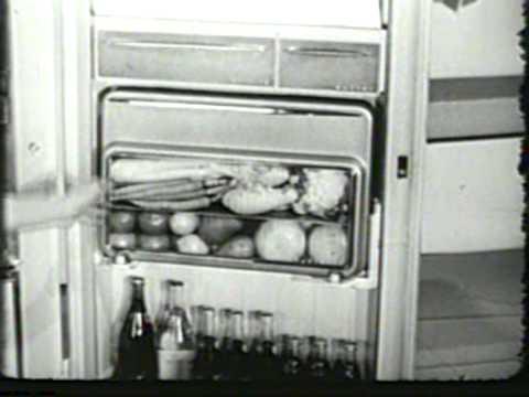 1956 Frigidaire Refrigerator  ice box  Commercial