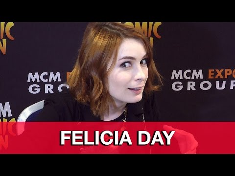 "Felicia Day Interview - Supernatural, Female Superheroes & ""You're Never Weird On the Internet"""
