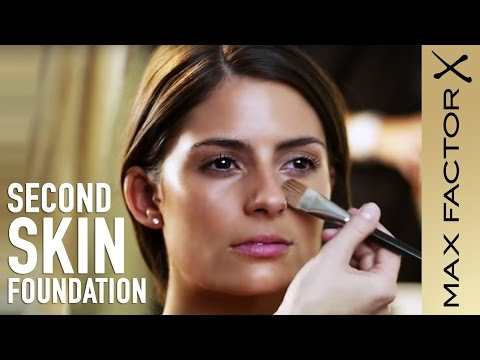 How to Apply Foundation | Second Skin Foundation Make-Up Tutorial with Max Factor