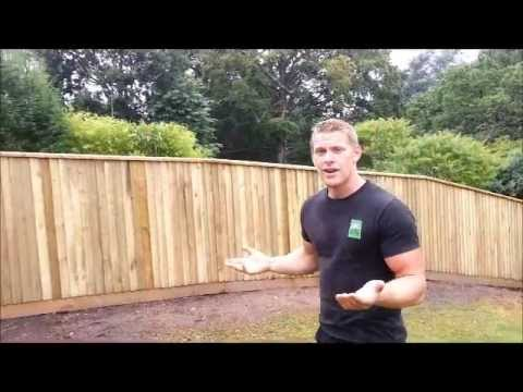 Macclesfield Garden Fencing Home Ground Part 2 Youtube