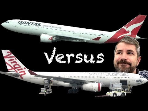 Qantas A330 Business Class Vs. Virgin Australia A330 Business Class