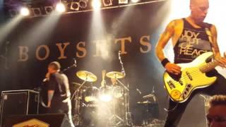 Boysetsfire - Walk Astray - Live 05.10.2015 Münster