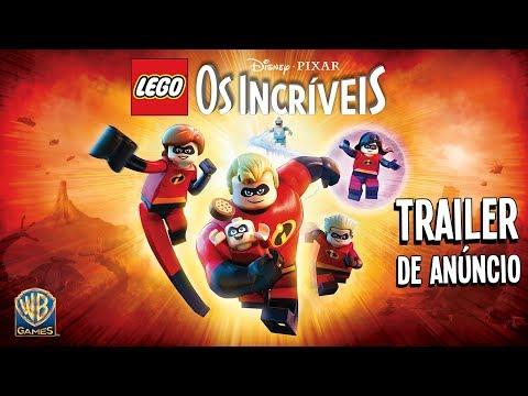 LEGO Disney•Pixar Os Incríveis - Trailer de Anúncio (LEGENDADO)