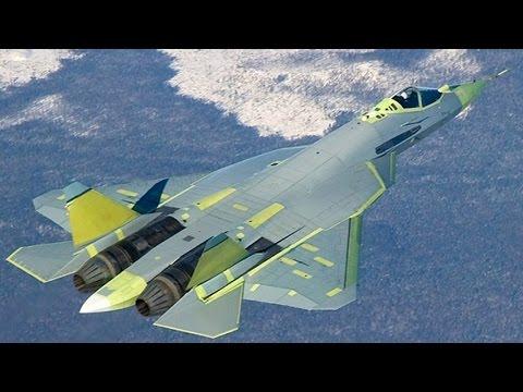 隐形战机T 50领衔俄军五种空中最强武器 Russian military force stealth jet air power