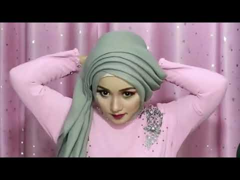 5 TUTORIAL HIJAB PASHMINA SIMPEL MENUTUP DADA (SYAR'I) by Yiyis [CLOSE GIVEAWAY].