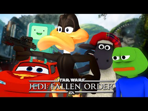 Star Wars Jedi: Fallen Order but ruined by mods 2 |