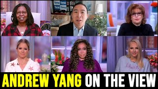 Andrew Yang on The View | Full Interview January 19th 2021