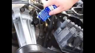 HOW TO CHANGE THE SUPERCHARGER OIL ON A GM 3800 SERIES II V6