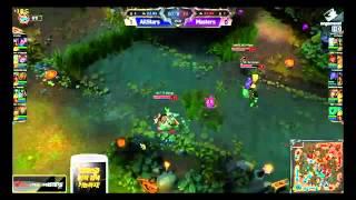 OGN AllStars vs OGN Masters Game 2   Super Fun Legends Match!   2014 OGN Spring