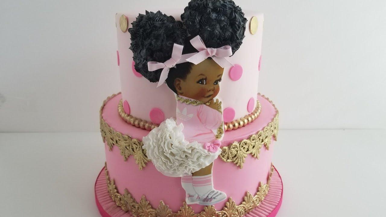 Decoracion Baby Shower Nina De Princesa.72 Pastel Para Baby Shower