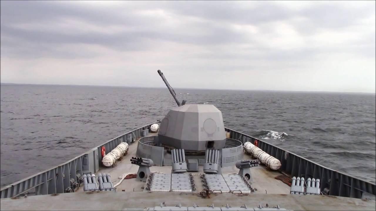 ВМС России получили новейший фрегат