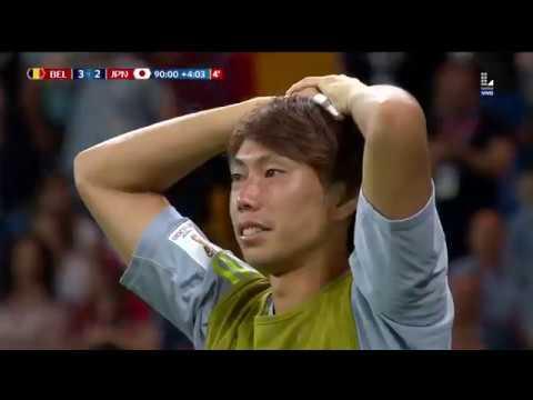 Todos los goles del Bélgica vs Japón
