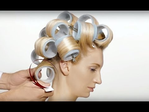 Hair Tutorial - Flexy Shapes / Step-by-Step How To Create Style  with Hair Rollers