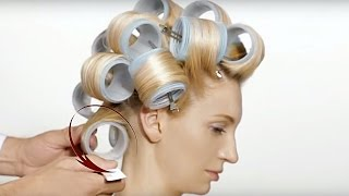 Nicolas Jurnjack Hair Tutorial - How To Create Style  with Hair Rollers