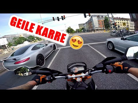 Mercedes GTs AMG | KTM SMC-R 690 | Hannover City